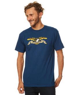 HARBOUR BLUE MENS CLOTHING ANTI HERO TEES - 51020001YHBLU
