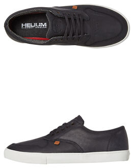 BLACK MENS FOOTWEAR ELEMENT SNEAKERS - 183904BLK