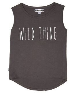 FADED BLACK KIDS TODDLER GIRLS SWEET CHILD OF MINE TOPS - SP18WILDTHINGFDBLK