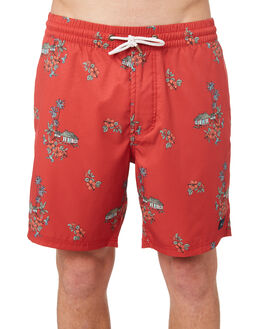 RED VACATION MENS CLOTHING BARNEY COOLS BOARDSHORTS - 805-CR4REDVA
