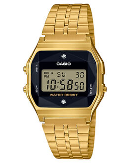 GOLD MENS ACCESSORIES CASIO WATCHES - A159WGED-1DGLD