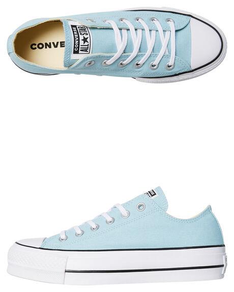 Converse Damenschuhe Damenschuhe Damenschuhe Chuck Taylor All Star Platform Schuhe Ocean Bliss ... 4425f8