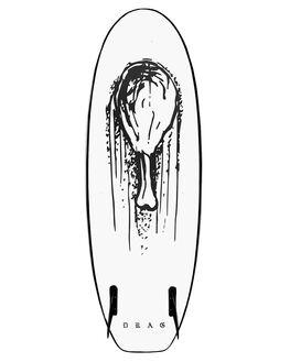 ORANGE WHITE SURF SOFTBOARDS DRAG FUNBOARD - DBCDRUMOGWHT