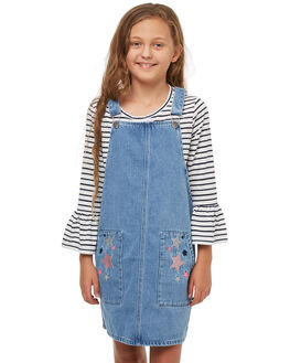DENIM KIDS GIRLS EVES SISTER DRESSES - 9910012DEN