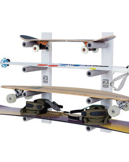 N/A BOARDSPORTS SURF SOLID RACKS BOARD RACKS - SR-911W