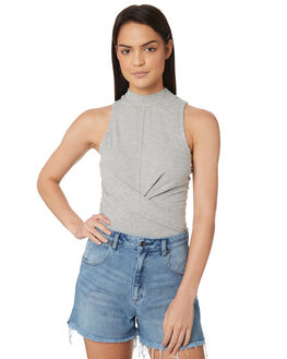 GREY MARLE WOMENS CLOTHING JORGE FASHION TOPS - 8300046GRM