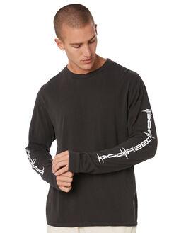 DUSTY BLACK MENS CLOTHING OBEY TEES - 166731916DBA
