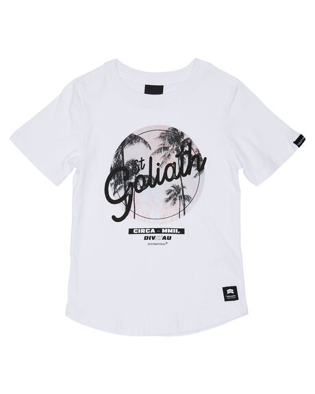 WHITE KIDS BOYS ST GOLIATH TOPS - 2862030WHT