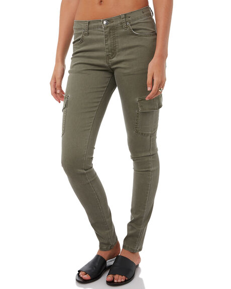 RIFLE GREEN WOMENS CLOTHING RUSTY PANTS - PAL0911RFG
