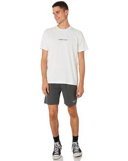 MERCH BLACK MENS CLOTHING THRILLS BOARDSHORTS - TH9-311MBMBLK