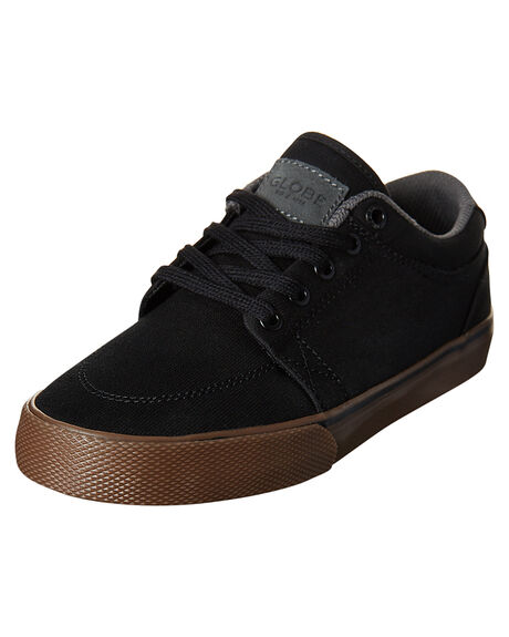 BLACK TOBACCO KIDS BOYS GLOBE SNEAKERS - GBKGS-10162