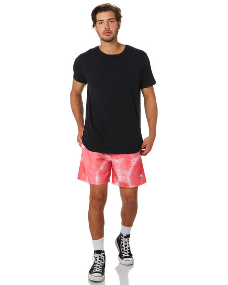 PINK MENS CLOTHING STUSSY BOARDSHORTS - ST092603PINK