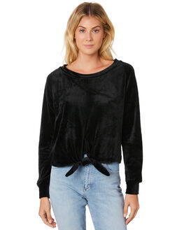 BLACK OUTLET WOMENS BILLABONG FASHION TOPS - 6586139XBLK