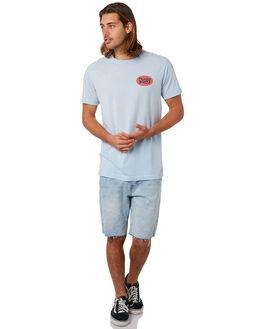 SKY BLUE MENS CLOTHING DEUS EX MACHINA TEES - DMS81670ASKBLU