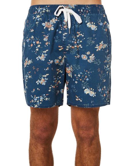 INDIGO MENS CLOTHING AFENDS BOARDSHORTS - M191353IND