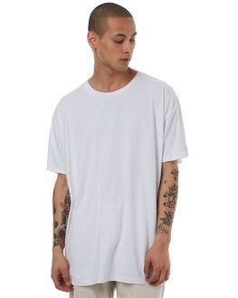 WHITE MENS CLOTHING ZANEROBE TEES - 125-LYKMWHT