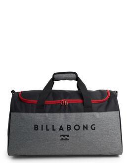 BLACK/RED MENS ACCESSORIES BILLABONG BAGS + BACKPACKS - BB-9692234-BB9