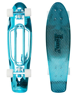BLUE METALLIC BOARDSPORTS SKATE PENNY COMPLETES - PNYCOMP27411BMTL