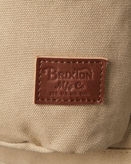 LIGHT KHAKI MENS ACCESSORIES BRIXTON BAGS - 05227LTKHK