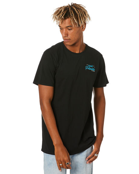 BLACK MENS CLOTHING SWELL TEES - S5203009BLACK