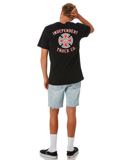 BLACK OUTLET MENS INDEPENDENT TEES - IN-MTD9320BLK
