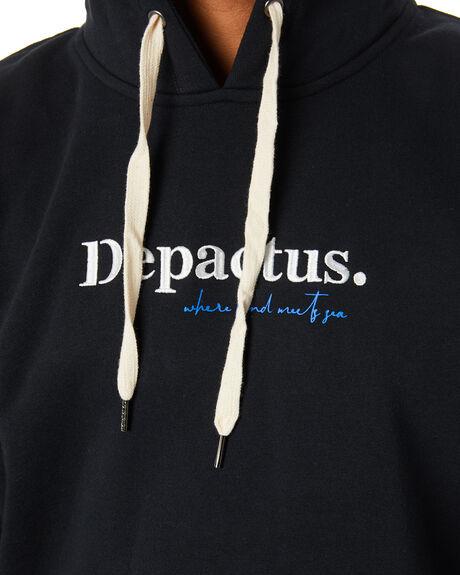 BLACK MENS CLOTHING DEPACTUS JUMPERS - D5211445BLACK