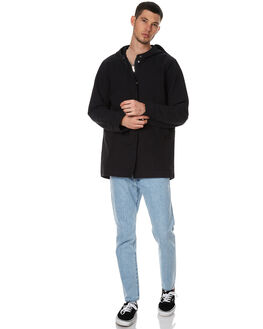 DEEP INK MENS CLOTHING ASSEMBLY JACKETS - AM-W1729DINK