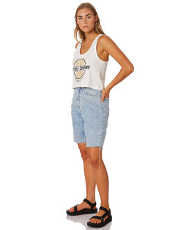 WASTED BLUE WOMENS CLOTHING THRILLS SHORTS - WTDP-325WEBLUE