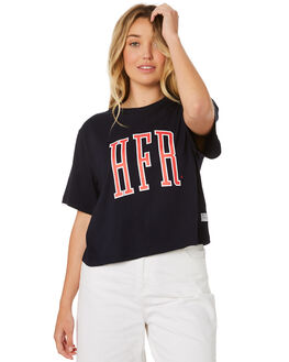 NAVY WOMENS CLOTHING HUFFER TEES - WTE84S72491NVY