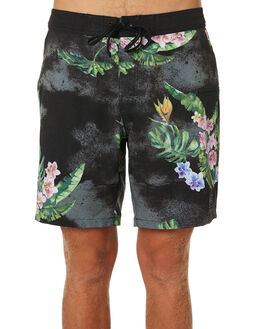 BLACK MENS CLOTHING RUSTY BOARDSHORTS - BSM1352BLK