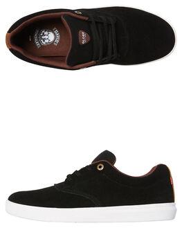 BLACK MENS FOOTWEAR GLOBE SKATE SHOES - GBEAGLE-10615