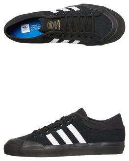 BLACK BLACK MENS FOOTWEAR ADIDAS ORIGINALS SNEAKERS - SSCQ1108BKBKM