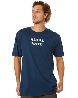NAVY MENS CLOTHING TOWN AND COUNTRY TEES - TTE515ANVY