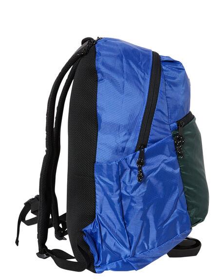 BLUE MENS ACCESSORIES OBEY BAGS + BACKPACKS - 100010123BLU