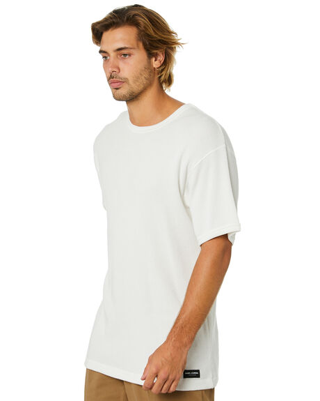 OFF WHITE MENS CLOTHING BANKS TEES - WTS0470OWH