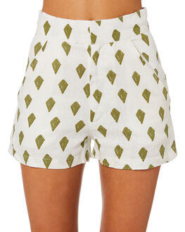 PRINT WOMENS CLOTHING ZULU AND ZEPHYR SHORTS - ZZ2536PRNT