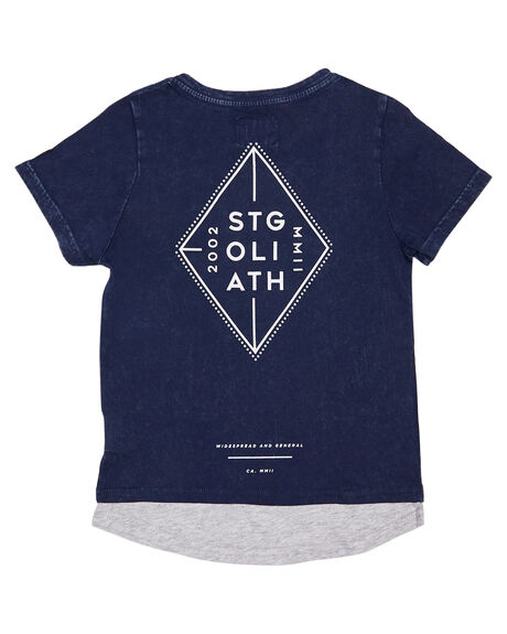 NAVY KIDS BOYS ST GOLIATH TOPS - 2821010NAVY