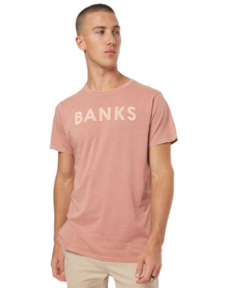 ROSE MENS CLOTHING BANKS TEES - WTS0200ROS