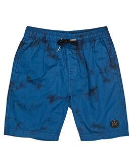 BLUE TIE DYE OUTLET KIDS ALPHABET SOUP CLOTHING - AS-KBC8333BLTIE