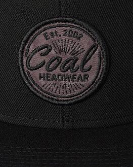 BLACK MENS ACCESSORIES COAL HEADWEAR - 220002BLK