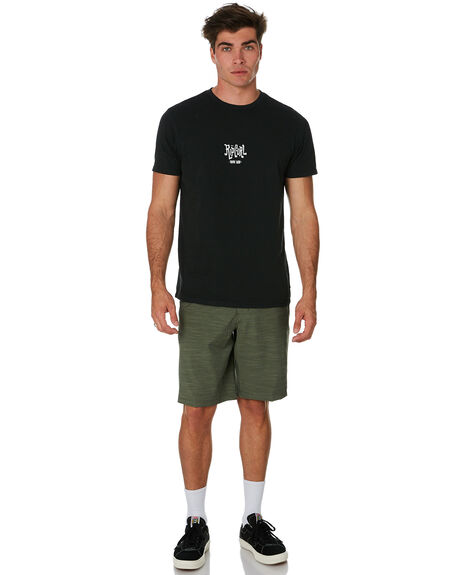 OLIVE MENS CLOTHING RIP CURL SHORTS - CWAKM10058