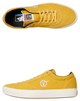 YOLK YELLOW MENS FOOTWEAR VANS SNEAKERS - VNA3TKKNYJYYLW