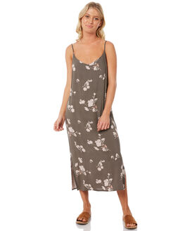 FLORAL PRINT WOMENS CLOTHING ELWOOD DRESSES - W83704-4JR