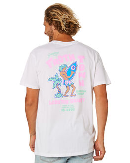 WHITE MENS CLOTHING THE LOBSTER SHANTY TEES - LBSFROTHTEEWHT
