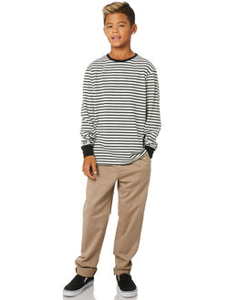 BLACK KIDS BOYS RUSTY TOPS - TTB0650BLK
