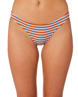 SKY CLAY OUTLET WOMENS SOLID AND STRIPED BIKINI BOTTOMS - WS-1941-1543SKCLY