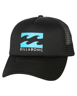 BLACK BLUE MENS ACCESSORIES BILLABONG HEADWEAR - 9675306BBE