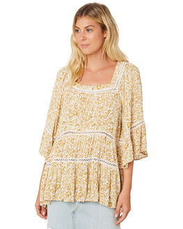 IVORY WOMENS CLOTHING FREE PEOPLE FASHION TOPS - OB9086671103