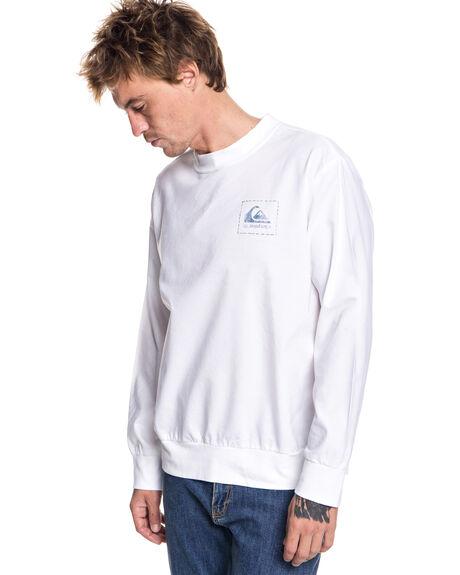SNOW WHITE MENS CLOTHING QUIKSILVER TEES - EQYWT03710WBK0