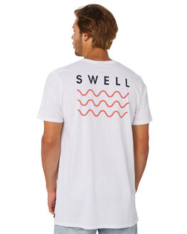 WHITE MELON MENS CLOTHING SWELL TEES - S5184013WHIME